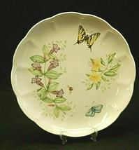 Butterfly Meadow Swallowtail Lenox 10-7/8 Dinner Plate Butterflies Floral Accent - $26.72