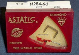 ASTATIC N284-6D NEEDLE for DUAL DN-70 for DUAL CDS-700 CDS-671 CDS-661 CDS-650 image 3