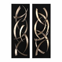 Uttermost 2-Pc Metal Wall Art Set in Gold - €338,58 EUR