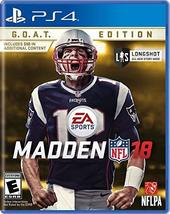 Madden NFL 18 G.O.A.T. Edition - PlayStation 4 [video game] - $10.55