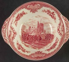 Johnson Brothers - 2 - Old Britain Castles Pink Cereal Bowl W Crown Ships Free - $29.69
