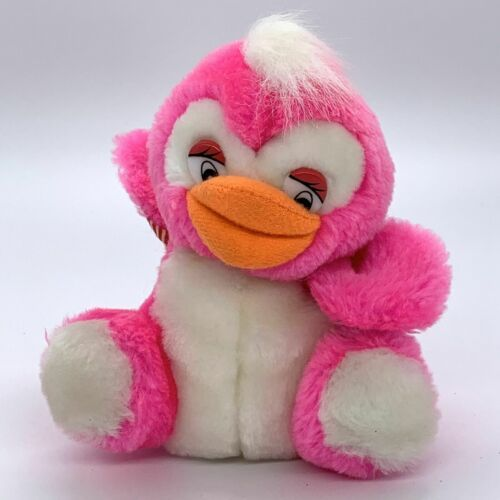 "Primary image for Vintage Cloud 9 Carnival Animal Fair Prize 5"" Pink Duck Plush"