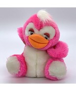 "Vintage Cloud 9 Carnival Animal Fair Prize 5"" Pink Duck Plush - $7.08"