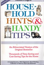 Readers Digest Household Hints & Handy Tips  - $6.50