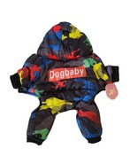 Dog Baby Size Small Winter Jacket Pet Apparel Black & Primary Colors NWT - $10.87