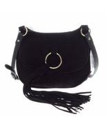 INC Womens Sianna Faux Leather Tassel Saddle Handbag $79 - $34.64