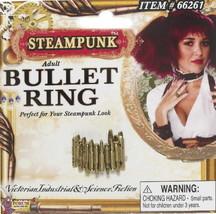 SteamPunk Cosplay Victorian Bullet Belt Finger Ring NEW UNUSED - $6.43