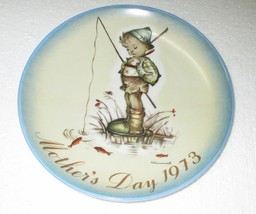 """Hummel Mother's Day Plate 1973 West Germany 7 3/4"""" - $8.95"""