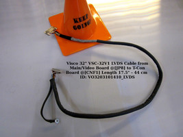 "Visco 32"" VSC-32V1 LVDS Cable from Main/Video Board @[JP8] to T-Con Boar... - $15.85"