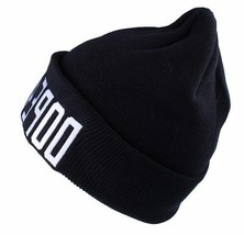 Dope Couture Black DOPE4LIFE For Life Cuff Fold Beanie Skate Winter Hat NWT image 2