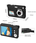 Digital Camera, 2.7 Inch HD Camera fr Backpacking Rechargeable Mini Came... - $238.36