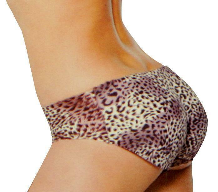 Fullness Women's Butt Boosting Padded Shapewear Enhancer Panty Cheetah 8079