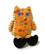 "Build a Bear Plush Owl 15"" Orange BABW  - $14.00"