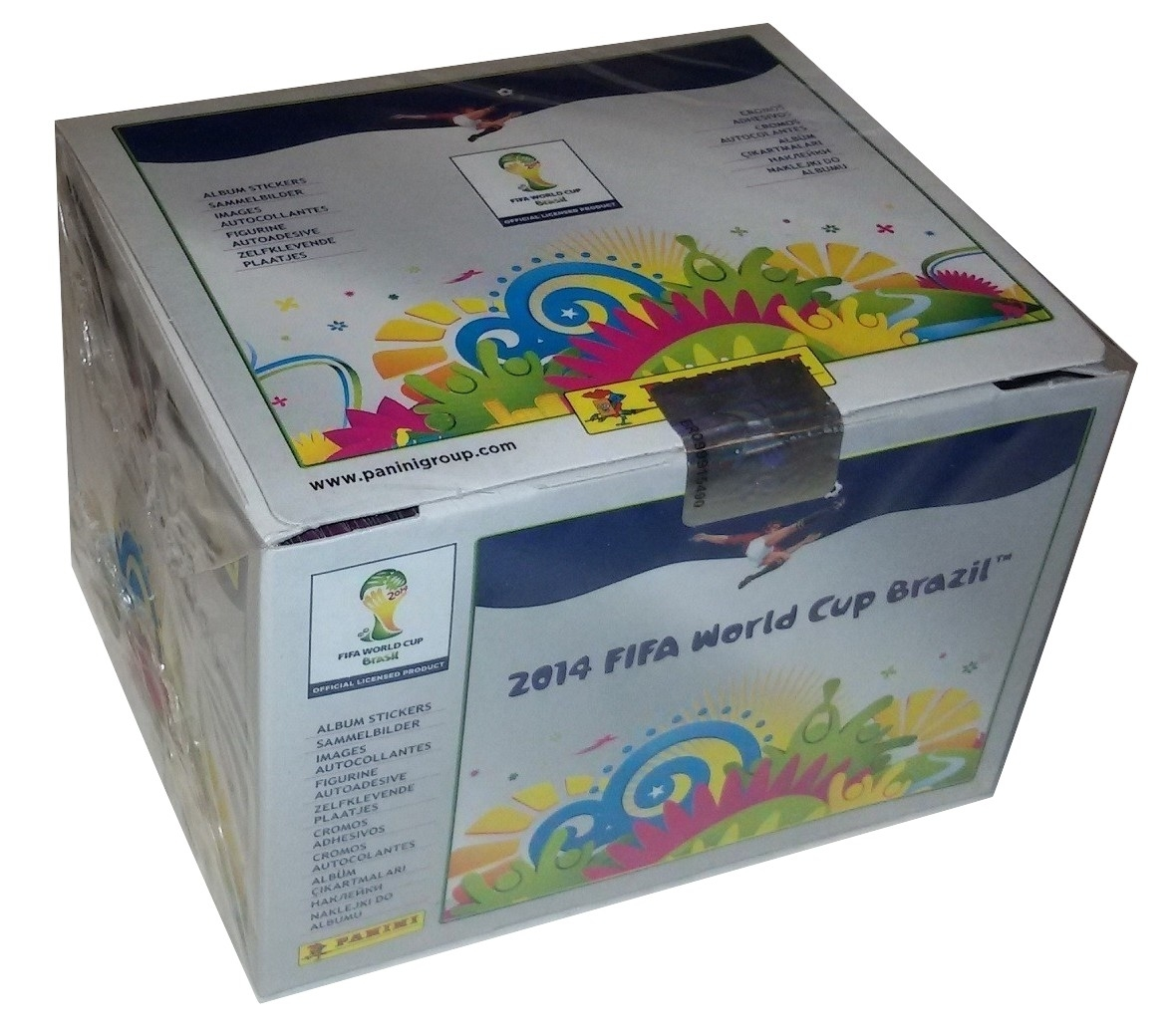Brasil 2014 Grey Edition Box 100 Packs Stickers Panini World Cup - $42.00