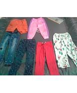 Lot of 6-Pants/Bottoms-Girl's(Toddler)-Size:6-Gap,Carter's,Lee,Adidas,Tu... - $12.59