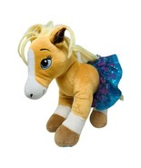 Build A Bear Horses Hearts Riding Club Plush Palomino Stuffed Toy Sequin... - $14.99