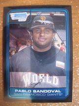 Pablo Sandoval 2006 Bowman Chrome Draft Futures Game Prospect Rc #FG6 Rookie - $3.95