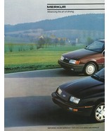 1987/1988 MERKUR full line XR4Ti SCORPIO brochure catalog US 87 88 Ford ... - $6.00