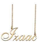 Izaac Custom Name Necklace Personalized for Mother's Day Christmas Gift - $15.99+