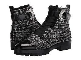 MICHAEL Michael Kors Frieda Ankle Boot Black Silver - €196,07 EUR