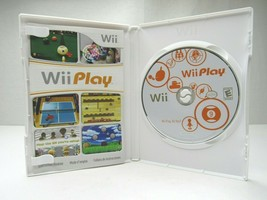 Wii Play 2007 Ping Pong Archery Billards Fishing Racing Shooting Range M... - $9.87