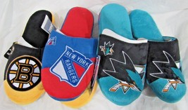 NHL Colorblock Slippers by Forever Collectibles -Select- Size AND Team Below - $26.95