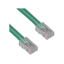 Cable Wholesale Cat 5E Green Ethernet Patch Cable, Bootless, 50 Foot - $25.18