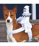 CUTE Ride-On Ghost Halloween Dog Costume - $29.50
