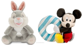 Disney PlushToy Rattle Mickey Mouse Thumper New - $26.95