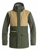 New Men's Quiksilver Horizon Snow Jacket -Medium- Green -Winter 16/17- S... - $97.91