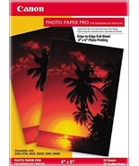 Canon Photo Pro Borderless Photo Paper (4inx6in, 20-Sheets) - $11.99