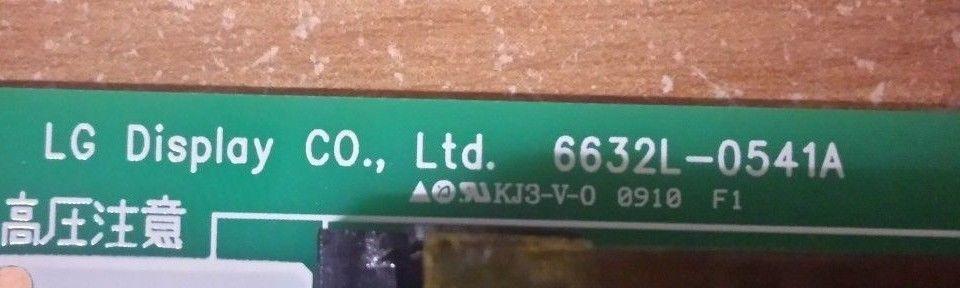 Toshiba 37AV502R - Backlight Invertor Board (6632L-0541A)