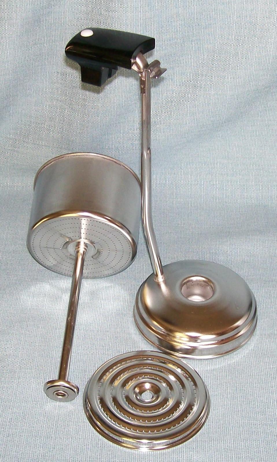 Corning Ware BLUE CORNFLOWER Electric Coffee Pot/Percolator 10 cup P-80-EP EUVC image 10