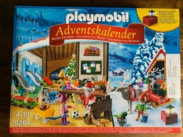 PLAYMOBIL 9264 Advent Calendar 2019  New In Sealed Box Santa Reindeer - $24.24