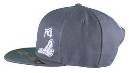 Dissizit Smoke Bowls Skateboard D Bones Ramp Grey Snapback Baseball Hat NWT image 5
