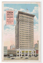 YMCA Hotel Wabash Avenue Chicago IL 1920c postcard - $6.00