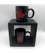 Marlboro Black Set of 2 Mugs Bronco Horse Coffee Tea - $16.98