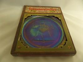 1776 AMERICAN BICENTENNIAL 1976 COMMEMORATIVE PLATE COLLECTORS BELL - $7.25
