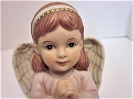 Home Interiors Figurine of Little Girl Angel Praying Precious Prayers No... - $9.99