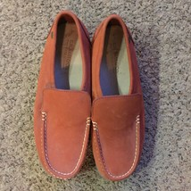 GH Bass & Co Rust Slip-on Loafer Leather Shoes Sz 9M - $13.10