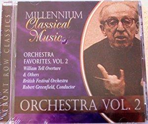 Millenium Classical Music. Orchestra Favorites Volume 2  Cd