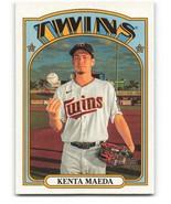 2021 Topps Heritage #204 Kenta Maeda NM-MT Twins - $0.99