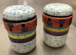 Treasure Craft Paradise Salt and Pepper Shaker Set Southwest Speckled - $39.59