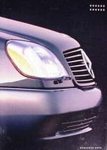 1993 Mercedes-Benz 500 600 SEC Dlx Brochure 93 - $9.56