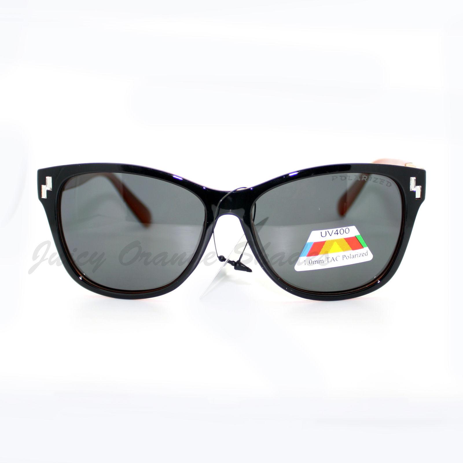 Polarized Lens UV 400 Womens Sunglasses Blinged Square Frame
