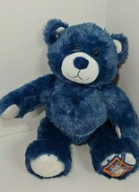 BUILD-A-BEAR teddy Blue Star Wars bear plush stuffed foot image sound bo... - $9.89