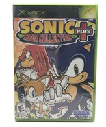 XBOX Sonic The Hedgehog Mega Collection Plus Sega Video Game 2004 New Se... - $55.90