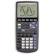 Texas 83PLCLM4L2B TI-83 8 Line x 16 Character Plus Graphing Calculator -... - $95.53