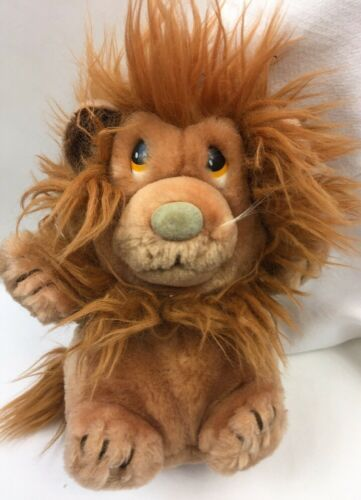 Primary image for Dakin Ludicrous Lion Plush Nature Babies Stuffed Animal Vintage 1982 8""