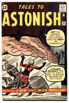 Tales to Astonish #36 comic book 3rd Ant-Man-Hank Pym-Marvel-1962 - $424.38